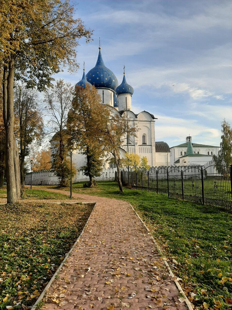 Центр города Суздаль
