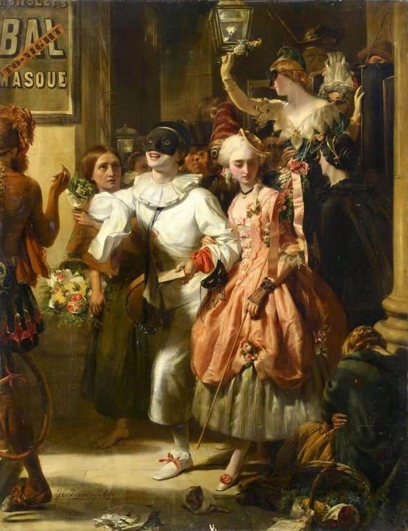 художник John Callcott Horsley (Джон Колкотт Хорсли) картины – 24