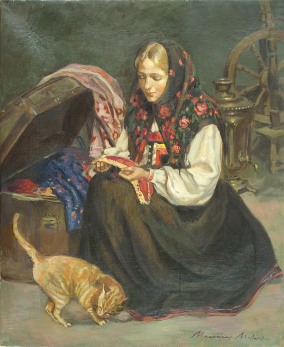 Бабушкин сундук. Автор: Молодых Мария.
