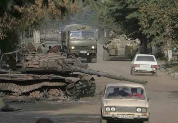 Рассказ от первого лица:  Как я был на маленькой войне в 2008 году