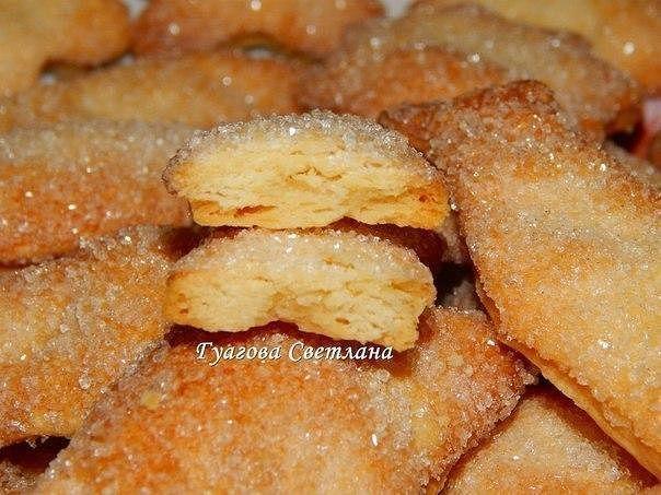 Вкусное, хрустящее печенье, с минимальными затратами сил и продуктов