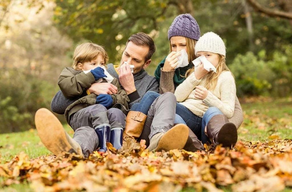 Осень - пора простуд
