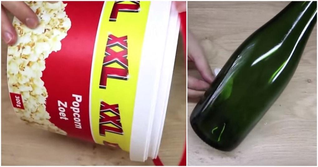 Вы не поверите, что можно сделать из ведра для попкорна
