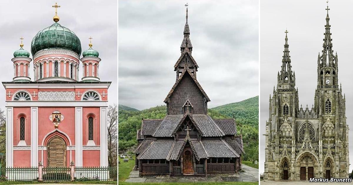 35 самых красивых церквей Европы.