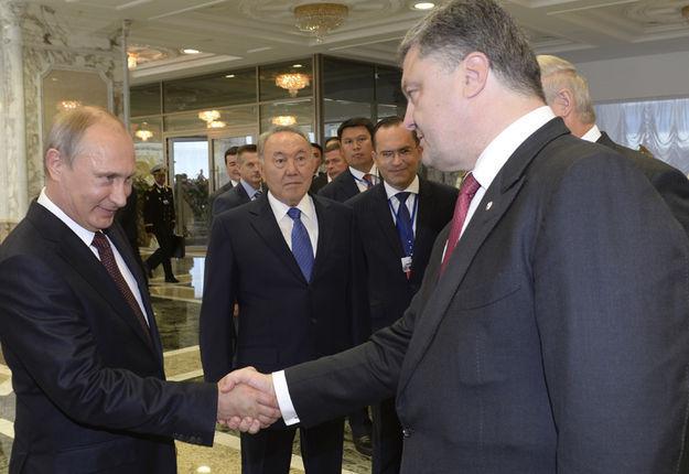 Зачем встречались Путин и Порошенко