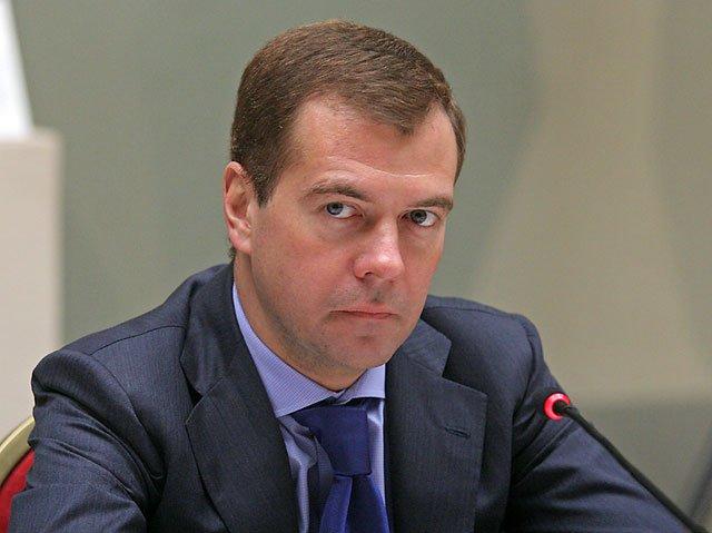 Медведев остался на своем посту председателя партии «Единая Россия»