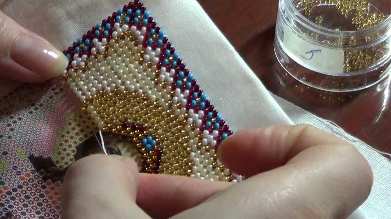 Как подобрать бисер к размеру канвы для вышивки?