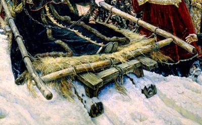 16 символов, зашифрованных в картине «Боярыня Морозова»