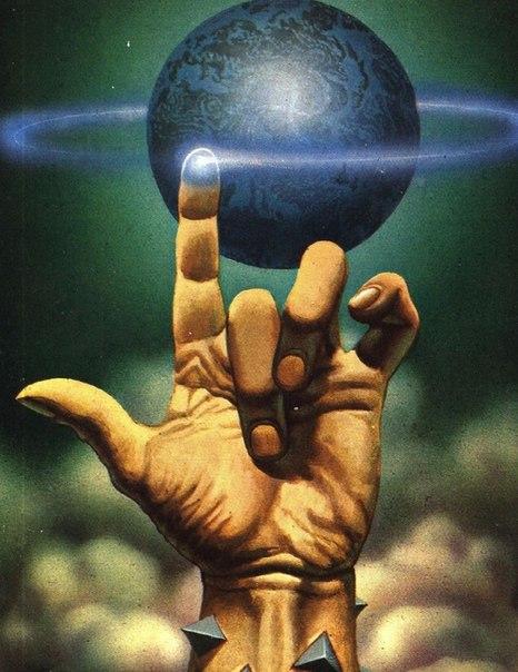 планета на руках