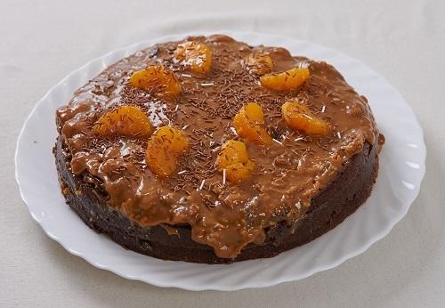 Шоколадный торт с орехами/Фото: Дмитрий Позднухов/BurdaMedia