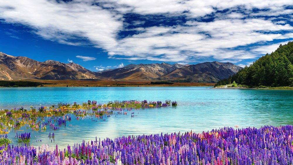 Удивительная красота озера Т…