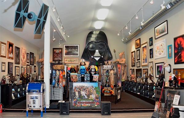 Украли часть самой большой коллекции по «Звездным войнам»