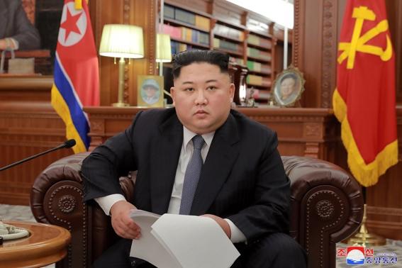 Поздравления с Новым Годом от Ким Чен Ына