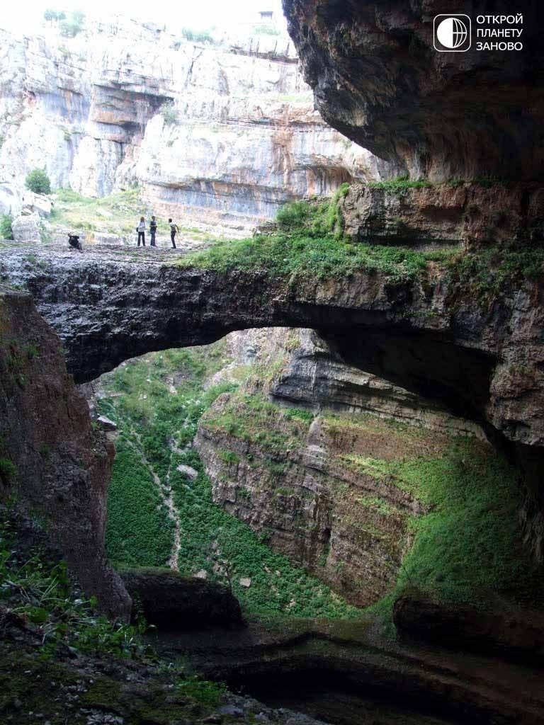 Водопад Глотка Баатары