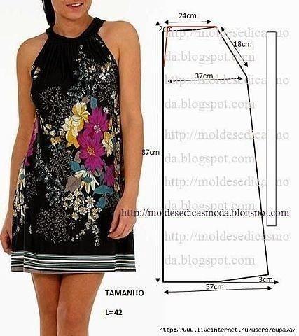 Сшить самой легкое платье