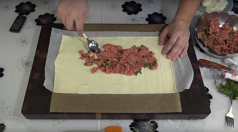 мясной пирог из фарша