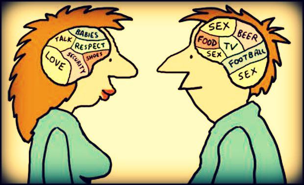 В чем разница? Пять отличий между женским и мужским мозгом