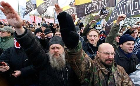 Как нацисты «Русский Мир» строили