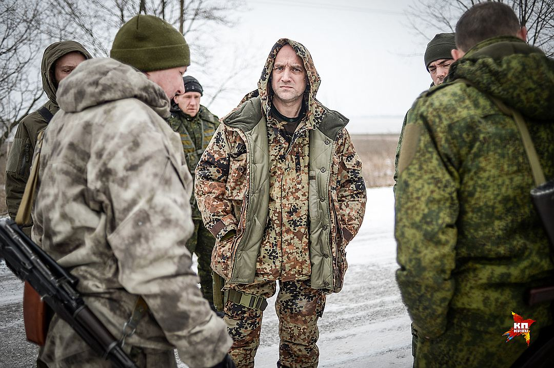 Захар Прилепин собрал в ДНР свой батальон