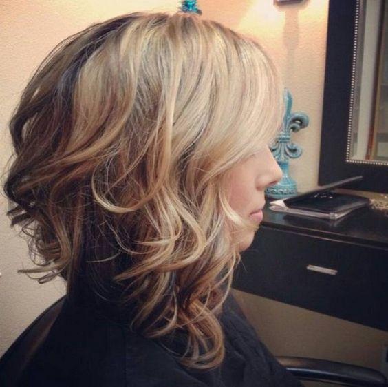 Умопомрачительные варианты стрижки боб на волнистые волосы. Часть 2