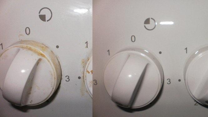 Как отчистить ручки у плиты фото 1