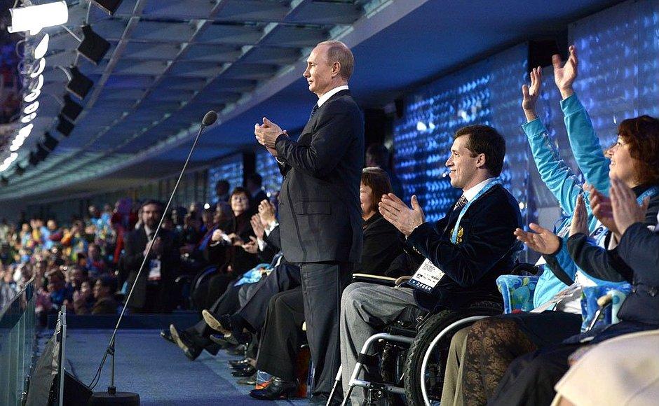 """""""Паралимпийцев все таки отстранили..."""" Аплодирую стоя!"""