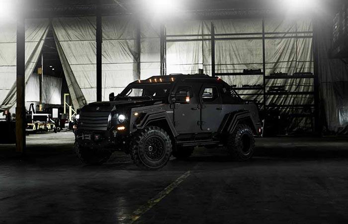 Автомобили: Постапокалиптичный гараж: бронированный внедорожник для гражданского человека