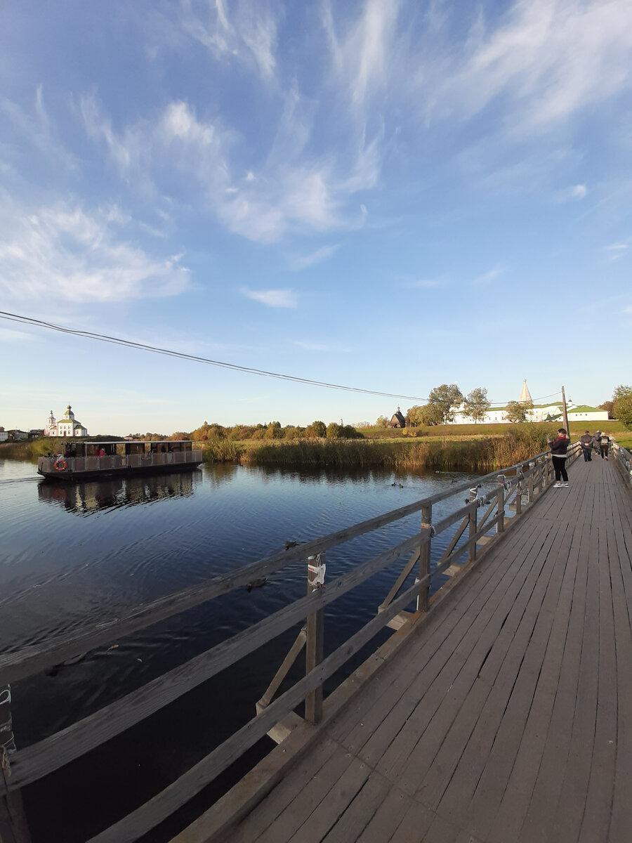 Набережная реки Нерль в Суздале