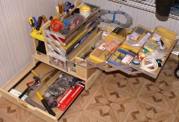 Ящик для инструментов сделать своими руками