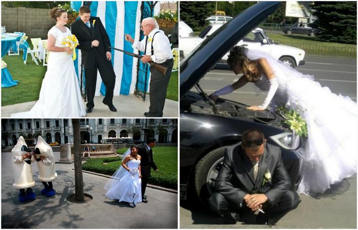 18 курьезных свадебных момен…