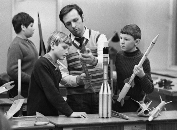 «Счастливое детство в СССР» Кружок ракетного моделирования СССР, быт, воспоминания, ностальгия, фото