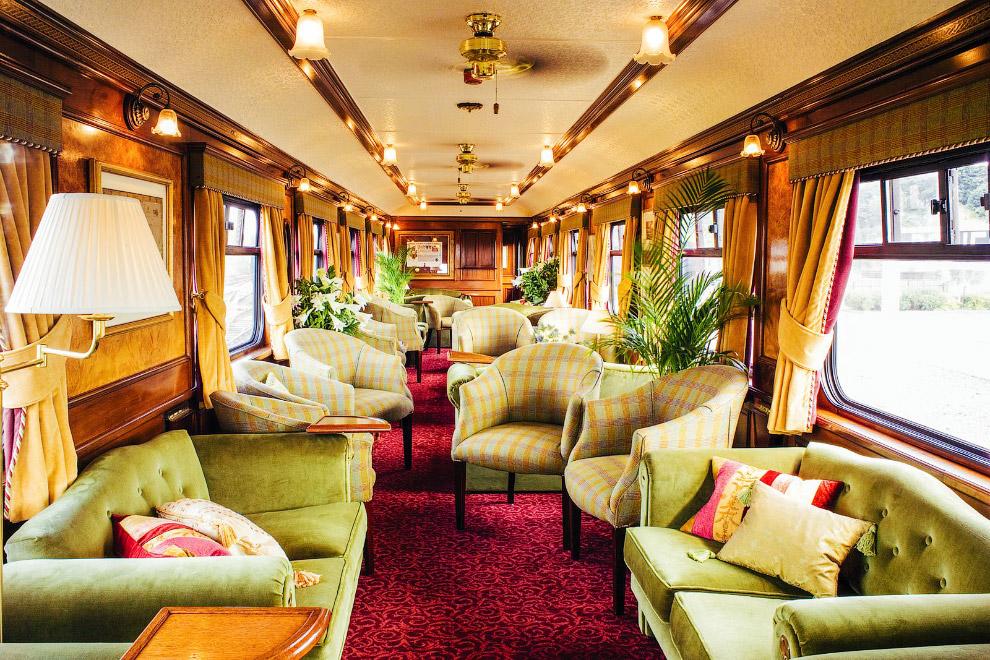 Роскошные VIP-поезда для путешествий