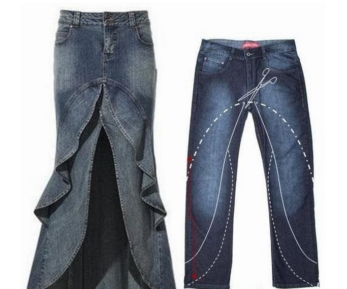 Копилка джинсовых идей