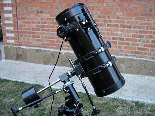 Изготовление телескопа в домашних условиях