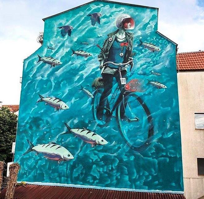 Rocket01 (Великобритания) в мире, граффити, интересное, искусство, подборка, стрит-арт, уличное искусство