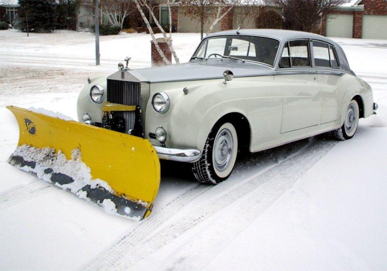 Креативный подход к уборке снега