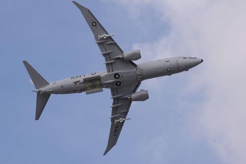 Американский Boeing P-8A провёл разведку близ Керченского пролива
