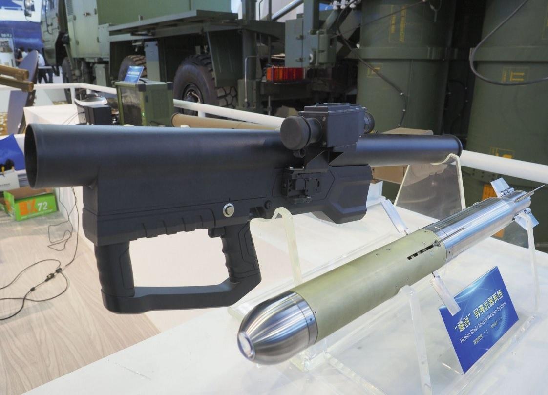 Китайская портативная ракетная система