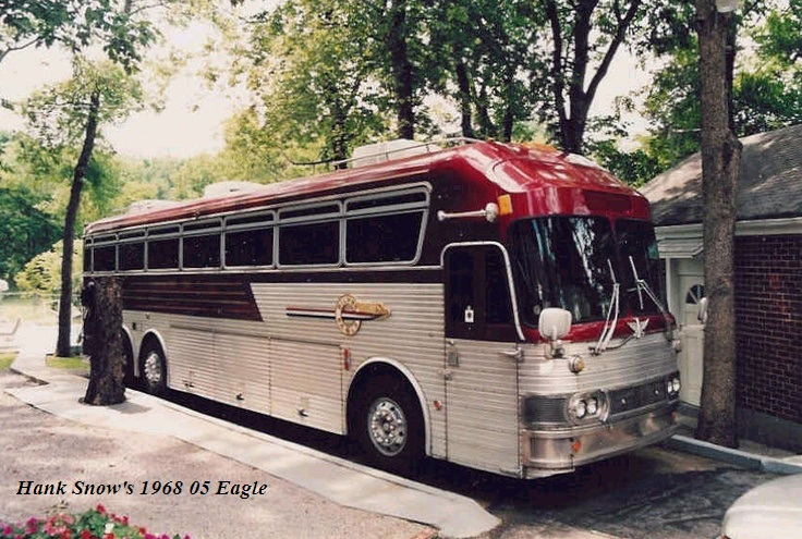 hank snow last bus