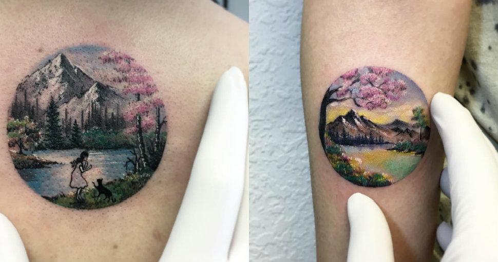 Как в сказку попали: стамбульская мастерица делает эксклюзивные татуировки