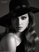 Джессика Альба в фотосессии журнала «West East Magazine»