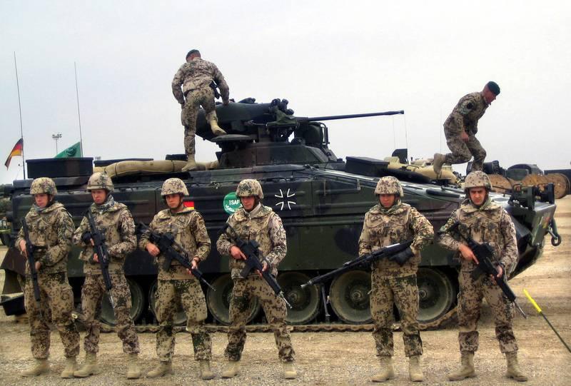 Современный Бундесвер - самая маленькая армия в истории Германии