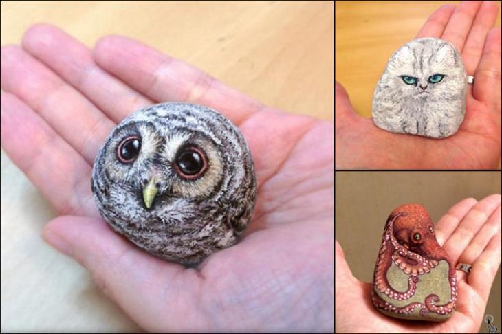 Камни, которые превратились в невероятно милые существа