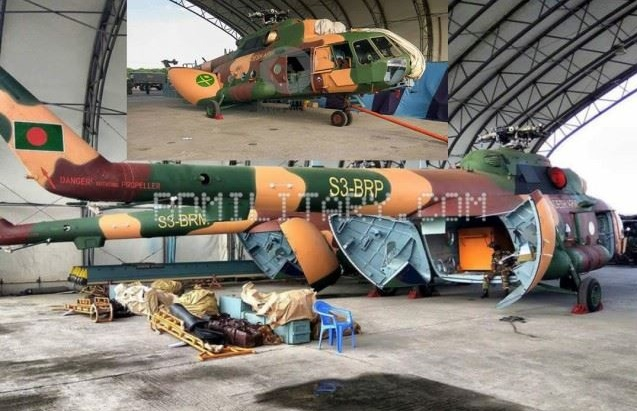 В Бангладеш поставлены очередные вертолеты Ми-17Ш