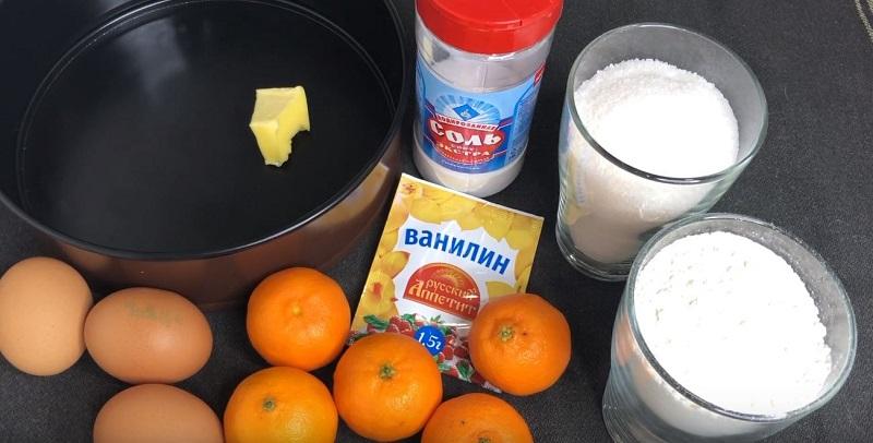 ингредиенты для теста на пирожки