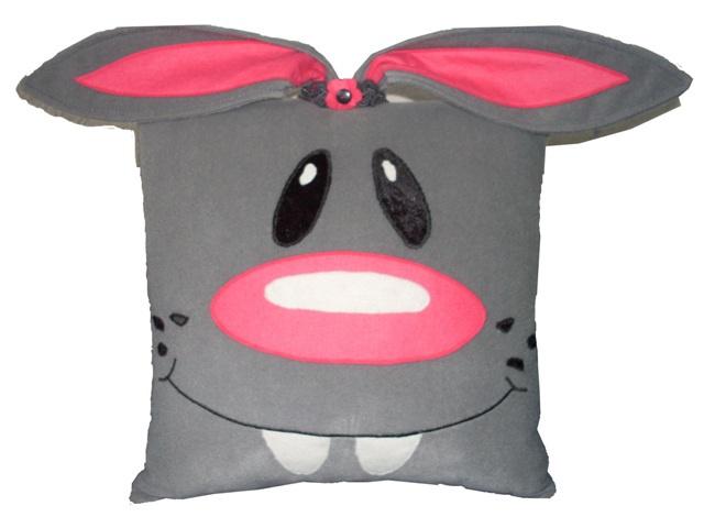 Зайка-диванная подушка