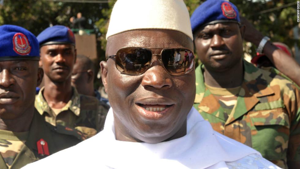 Президент Гамбии похитил весь бюджет свой страны и сбежал заграницу