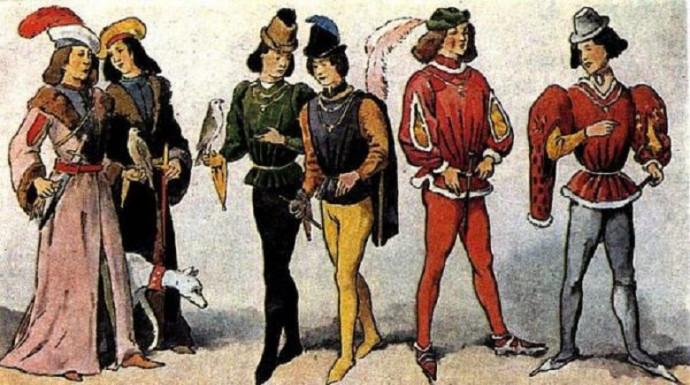 10 интересных фактов о средневековой моде