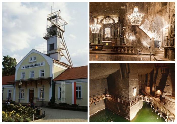 Соляные копи Величка – самая известная достопримечательность Польши.