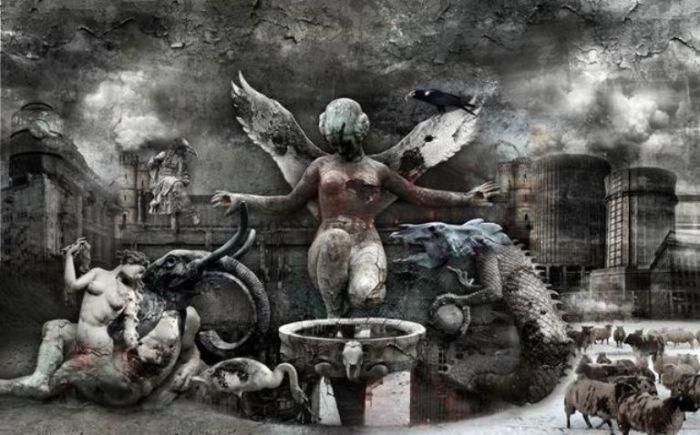 Мрачный сюрреализм: серия иллюстраций, в которой изображены глобальные проблемы современного общества